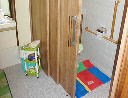 引き戸への取り替え・新設、扉の撤去 After