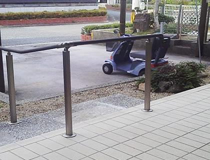 転落防止柵の設置 After